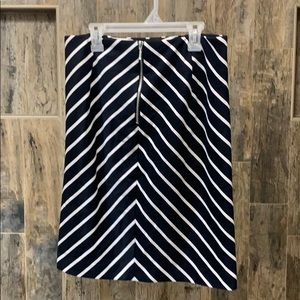 Grace Elements Black and White Pencil Skirt